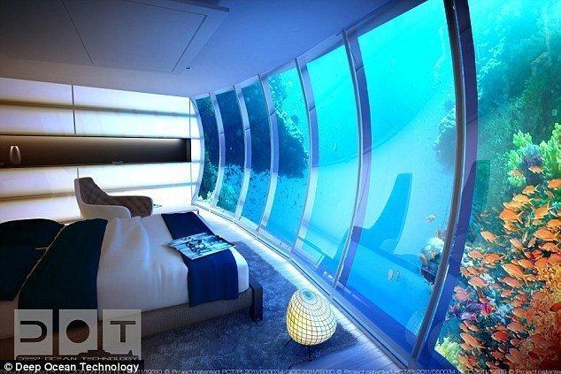 شاهد بالصور : دبي تبني أكبر فندق في العالم تحت الماء 5