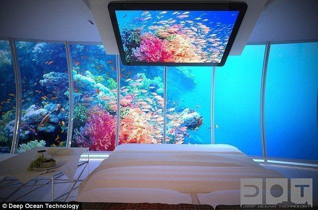 شاهد بالصور : دبي تبني أكبر فندق في العالم تحت الماء 4