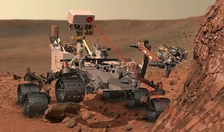 العثور علي المياه علي سطح المريخ : 2% من تربة المريخ تتكون من مياه ! 1