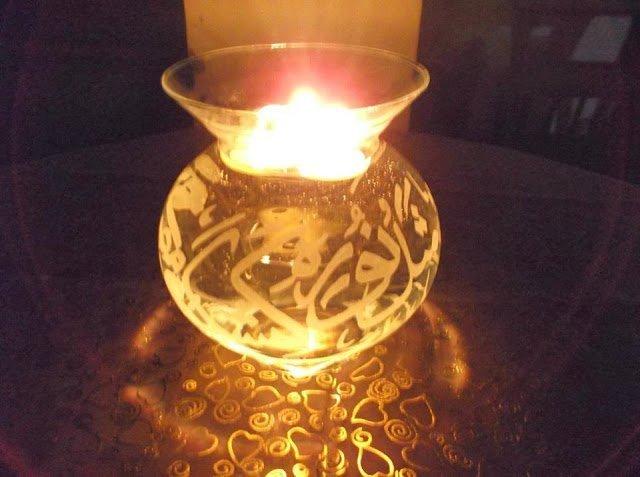 مواهب :  فن الحفر اليدوي على الزجاج 5