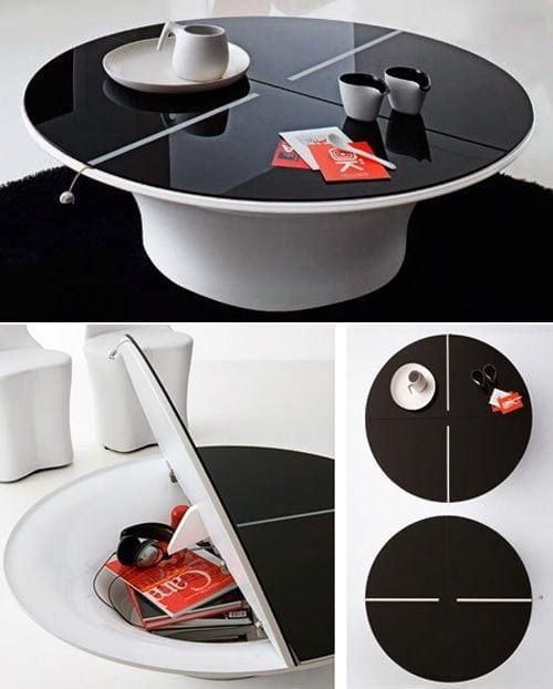 طاولة بها خزانة