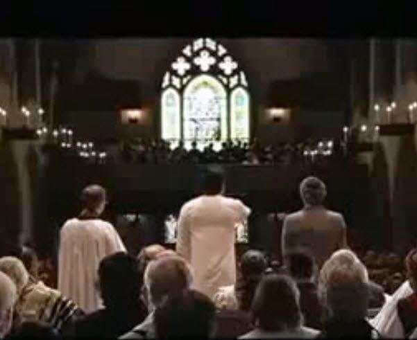 فيديو : أذان رائع من داخل كنيسة أمريكية 1