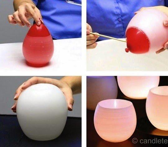 أفكار منزلية : أفكار منزلية مدهشة باستخدام بالون عادي 37