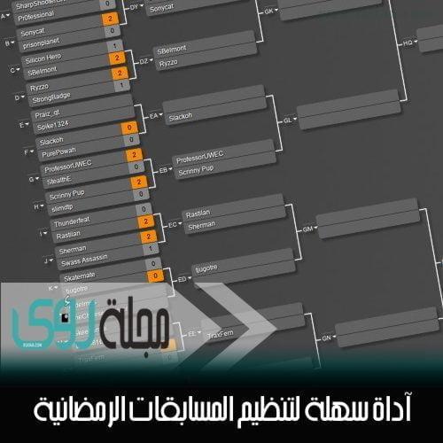 أداة سهلة لتنظيم المسابقات الرمضانية 1